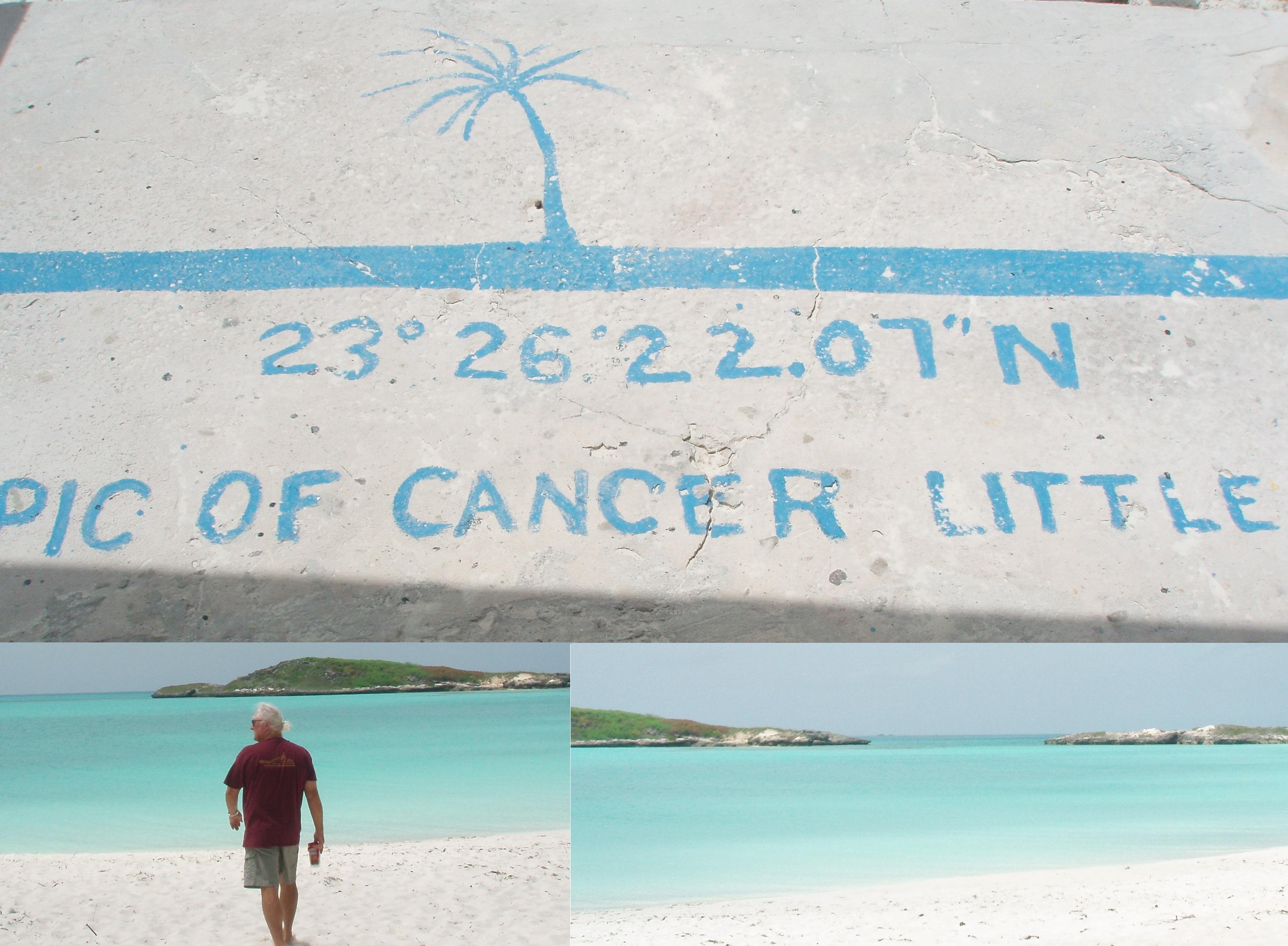 Tropic Of Cancer Beach On Little Exuma